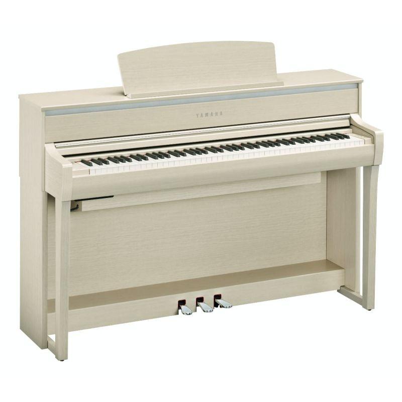 Yamaha CLP775WA Digital Piano in White Ash