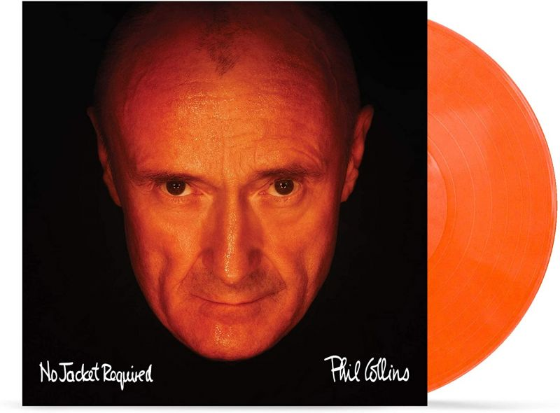 PHIL COLLINS - NO JACKET REQUIRED - ORANGE VINYL - NAD20