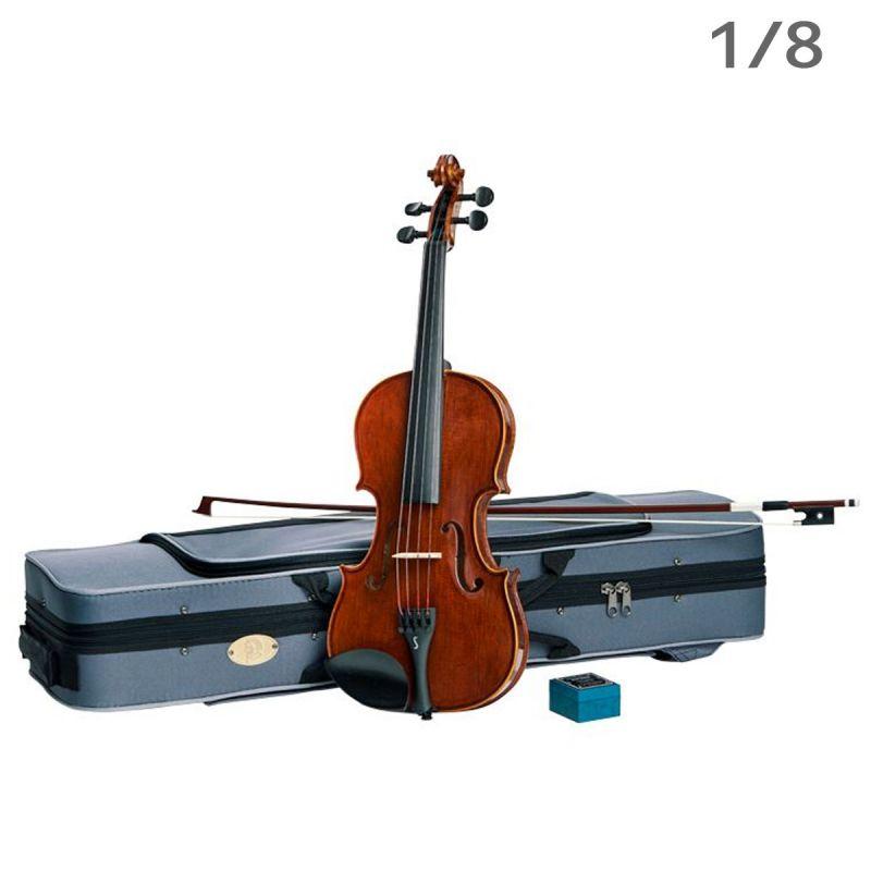 Stentor Conservatoire Violin Outfit, Oblong Case, 1/8 Size (1550G)