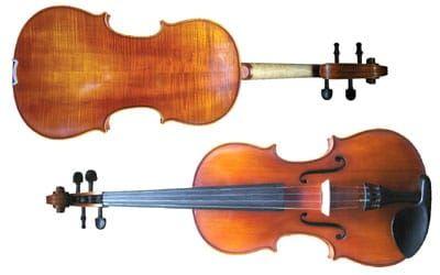Concertante Antiqued Violin Full Size