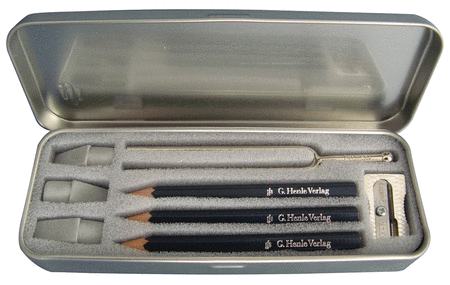 Musician's Writing Set with Tuning Fork