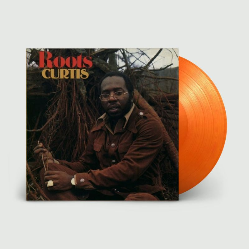 CURTIS MAYFIELD - ROOTS - ORANGE VINYL