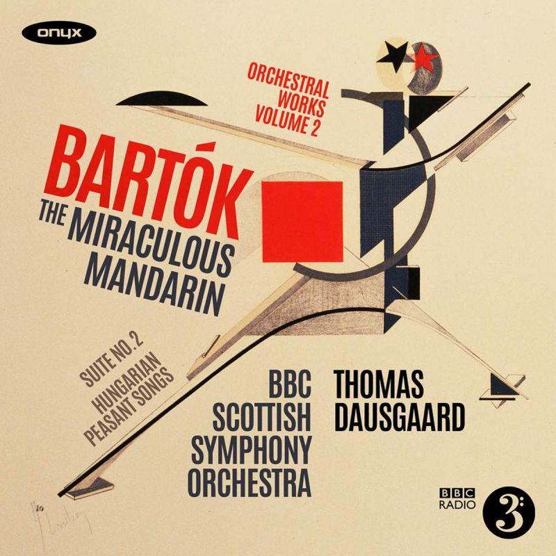 BBC SCOTTISH SO - BARTOK/THE MIRACULOUS MANDARIN SUITE - CD