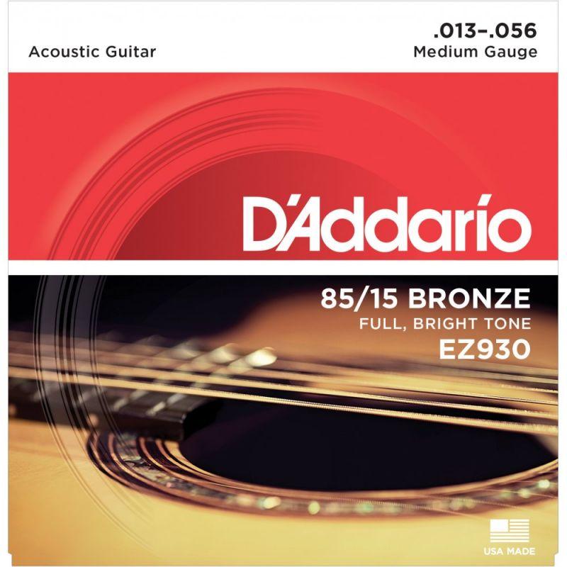 D'Addario 85 15 Bronze Medium