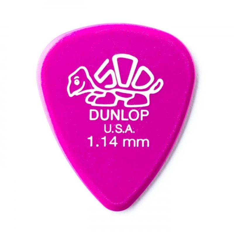 Dunlop Picks Delrin 500 Standard 1.14mm Players Pack 12