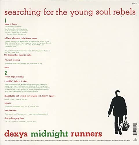 Dexys Midnight Runners - Searching For The Young Soul Rebels 12 LP