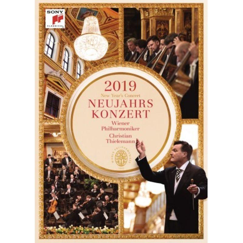 THIELEMANN/WIENER - NEUJAHRSKONZERT 2019/NEW YEAR'S (DVD)