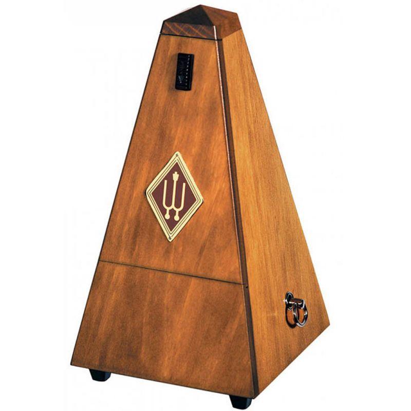 Wittner W803 Wooden Pyramid Metronome, High Gloss Walnut Finish