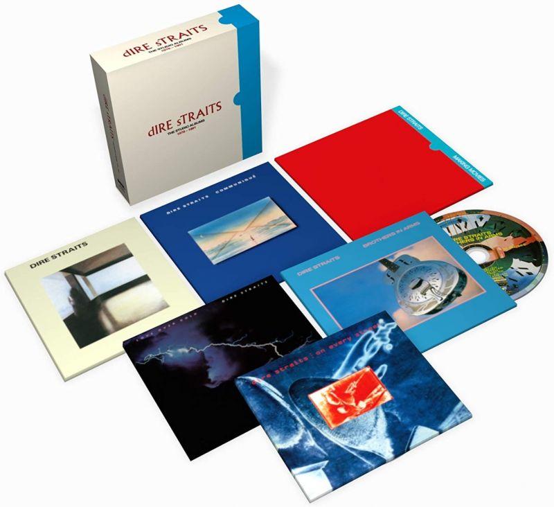 DIRE STRAITS - THE STUDIO ALBUMS 1978-1991 - CD BOX SET - NAD20