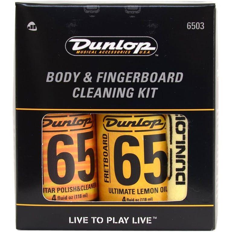 Dunlop D6503 Guitar Body And Fretboard Care Kit