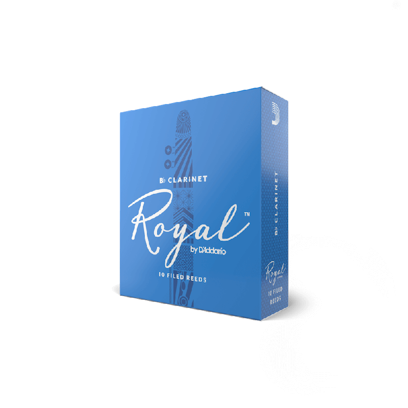 Rico Royal Bb Clarinet Reeds, Strength 2.0 (10 Pack)