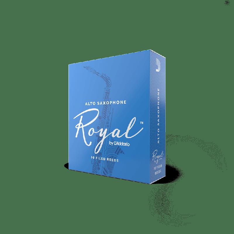 Rico Royal Alto Sax Reeds, Strength 3.0 (10 Pack)