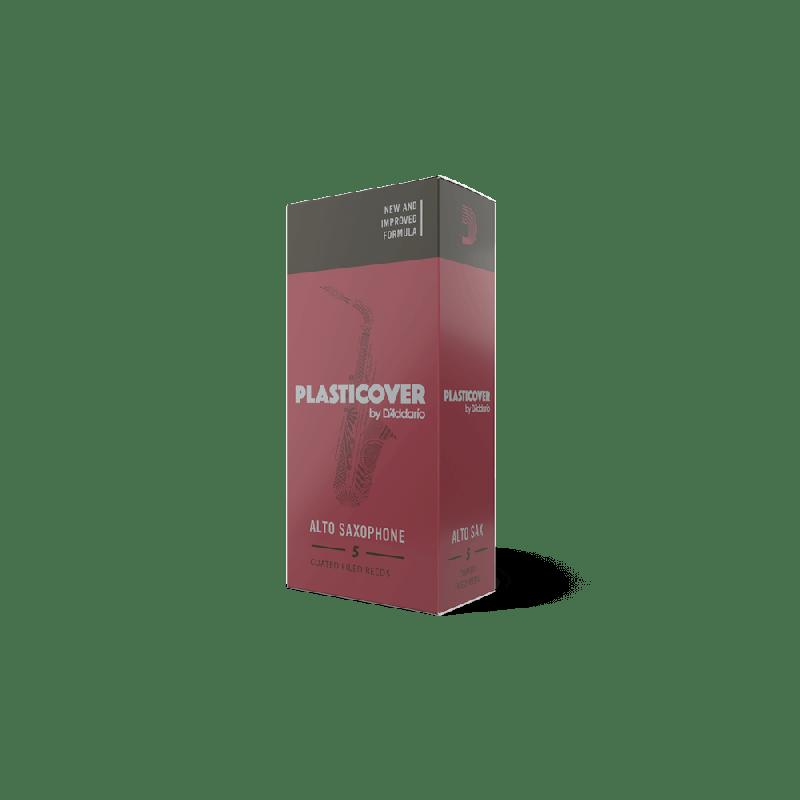 Rico Plasticover Alto Sax Reeds, Strength 2.0, 5-pack