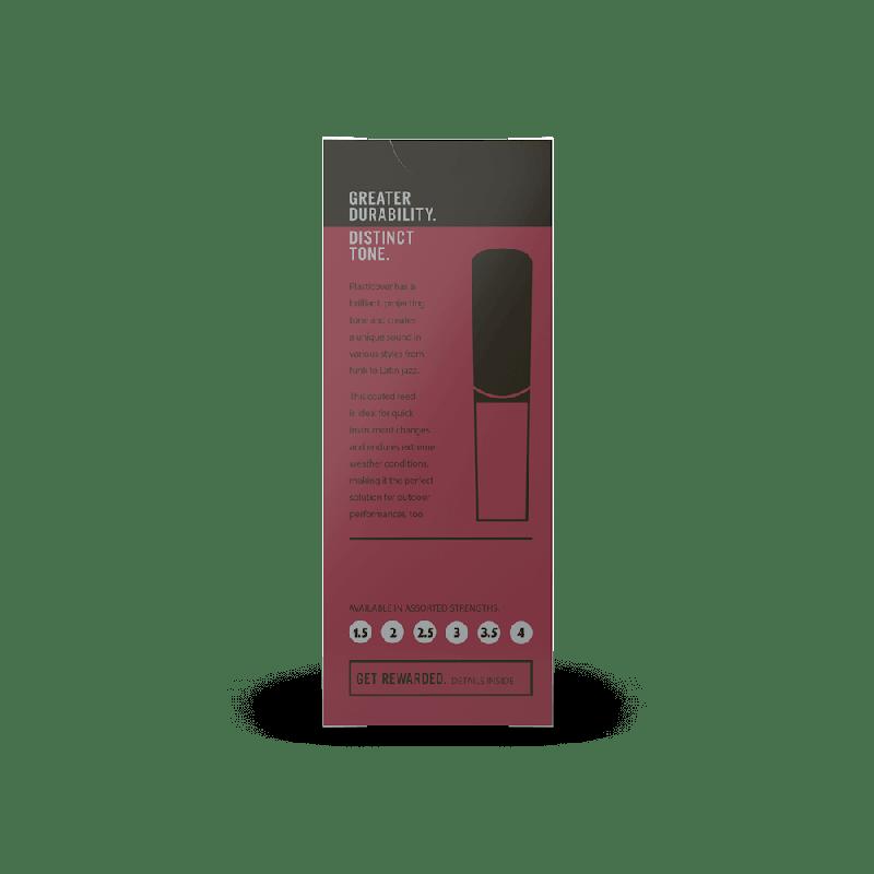 Rico Plasticover Tenor Sax Reeds, Strength 2.5 (5 Pack)