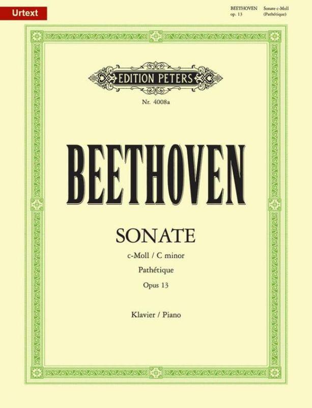 Beethoven, Ludwig Van - Sonata in C minor Op 13 Pathétique