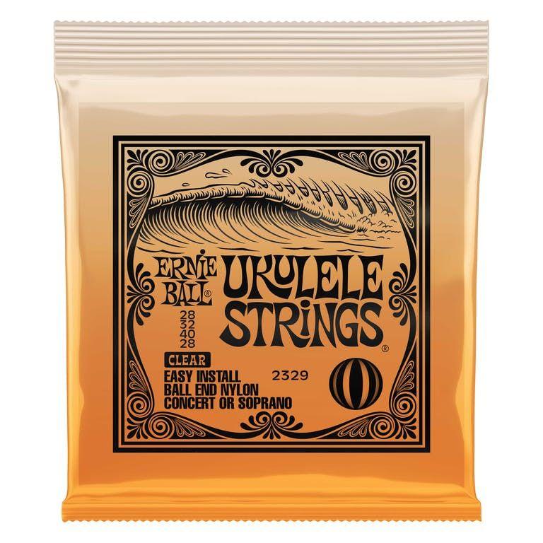 Ernie Ball Concerto/Soprano Ball End Nylon Ukulele Strings