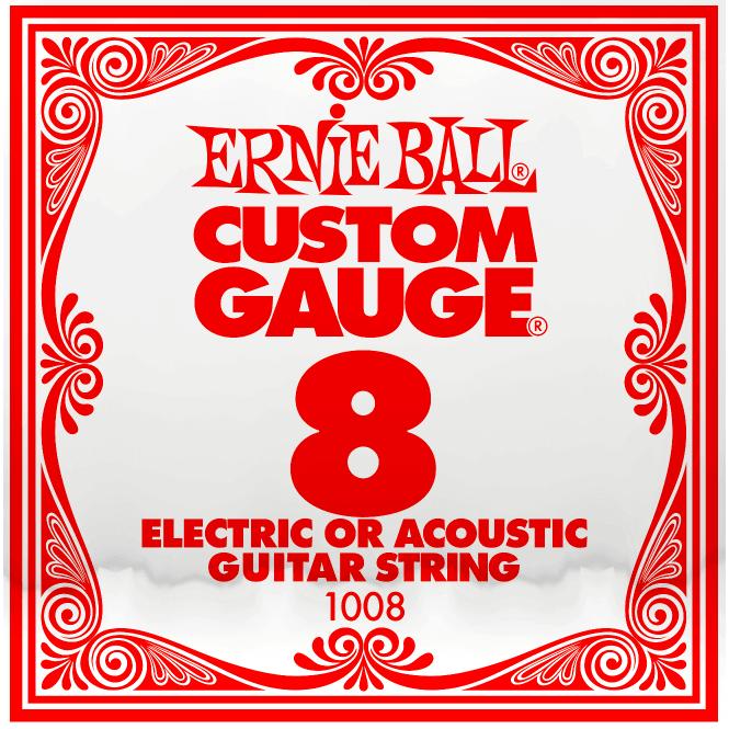 Ernie Ball Plain 008 String