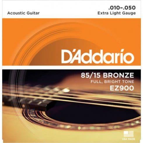 D'Addario 85 15 Bronze Extra Light