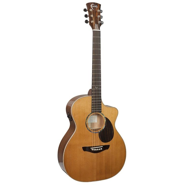 Faith Legacy Mahogany Earth Cutaway Electro Acoustic Guitar