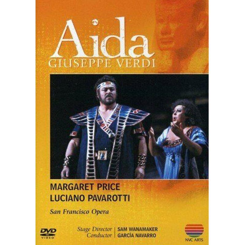 PRICE PAVAROTTI SAN FRAN OP - VERDI AIDA (DVD)