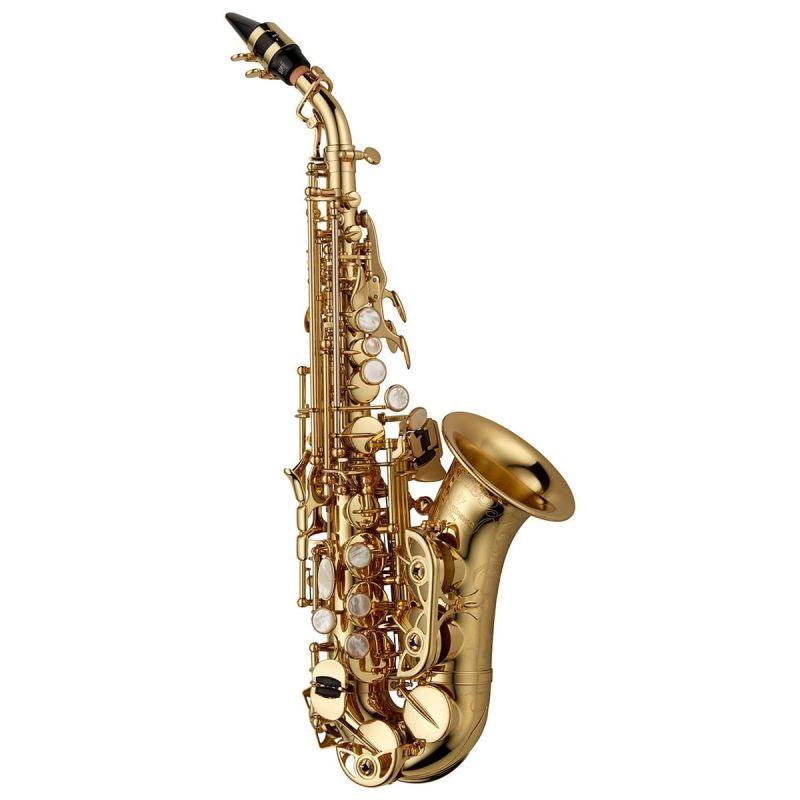 Yanagisawa SCWO10 Curved Soprano Saxophone - Brass Lacquered
