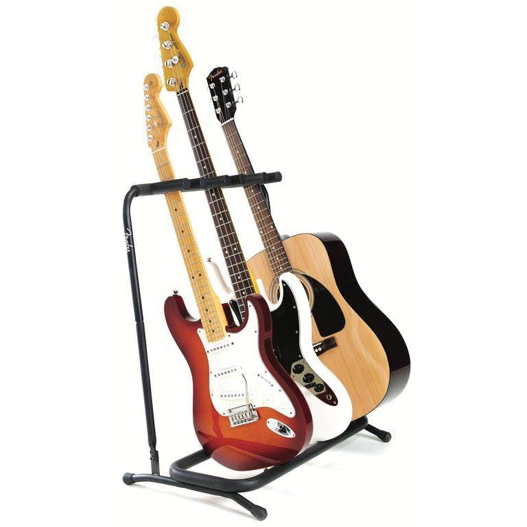 Fender Multi Guitar Rack Stand For 3 Guitars