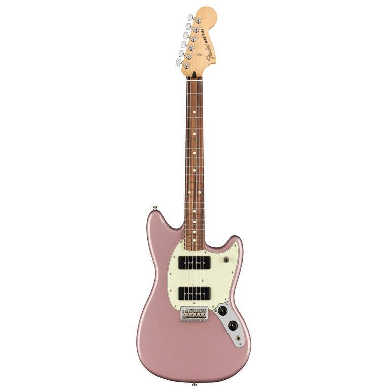 Fender Player Mustang 90 in Burgundy Mist Metallic