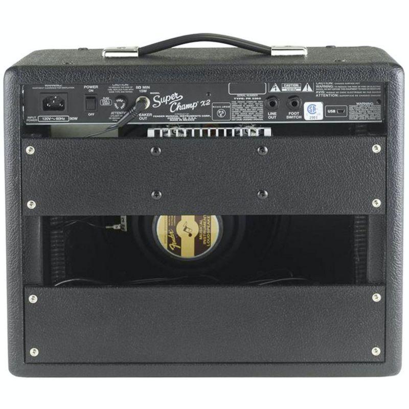 Fender Super Champ X2, Amplifier