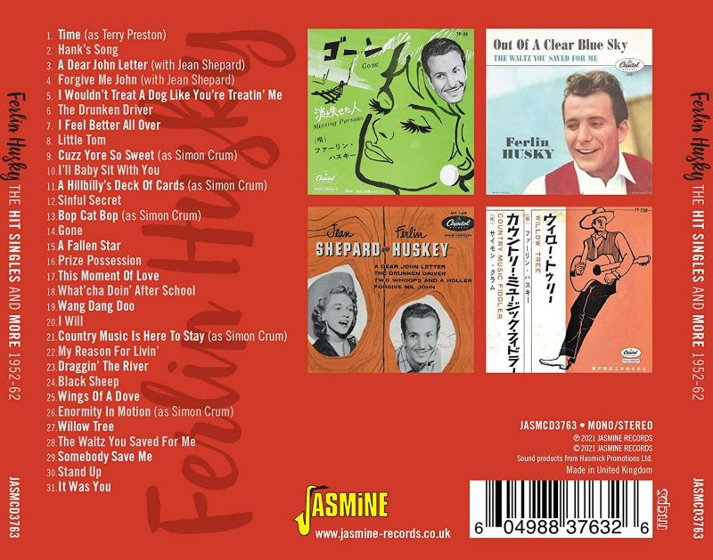 FERLIN HUSKY - THE HIT SINGLES AND MORE - CD