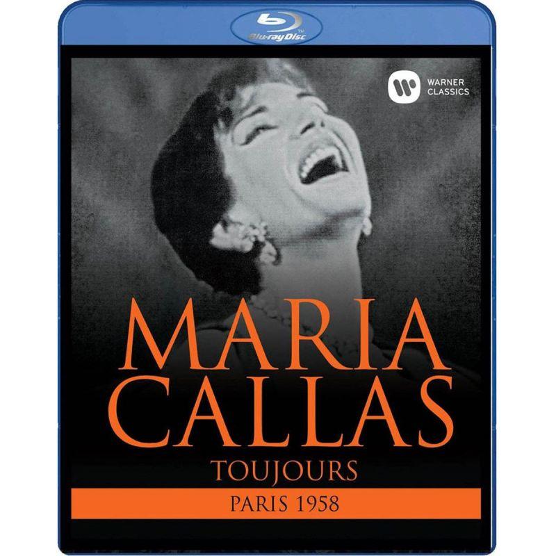 MARIA CALLAS/GEORGES SEBASTIAN - CALLAS/TOUJOURS (PARIS 1958) (BLURAY)