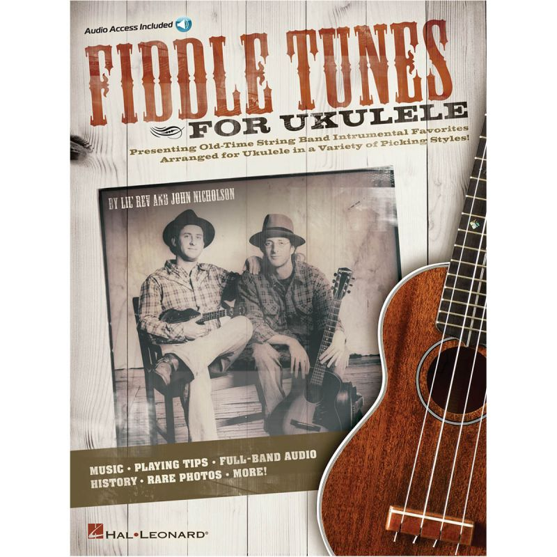 Fiddle Tunes For Ukulele (Book and online audio)