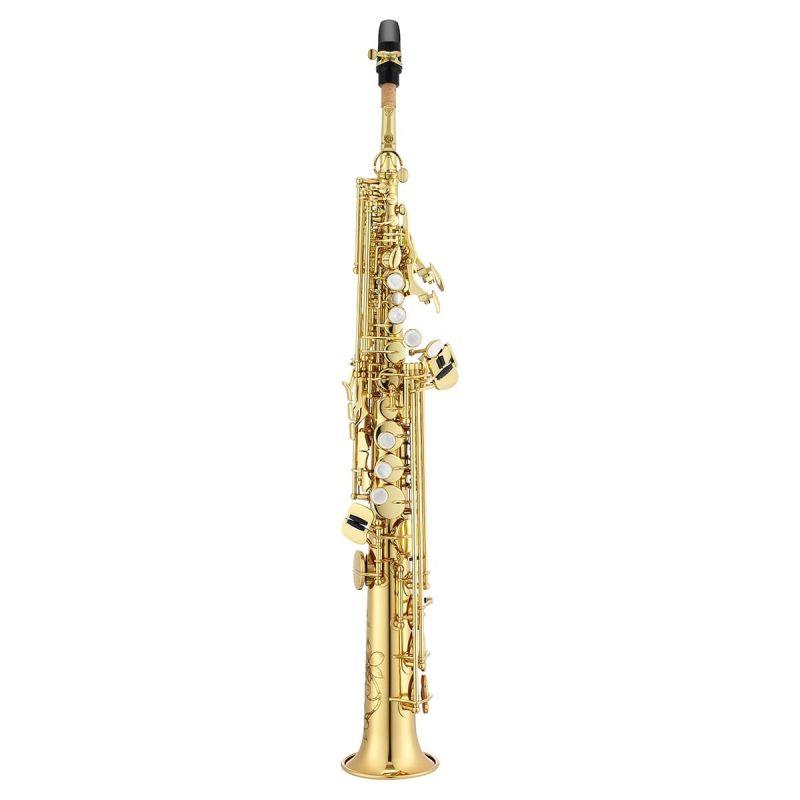 Jupiter JSS1000Q Bb Soprano Saxophone, gold lacquered