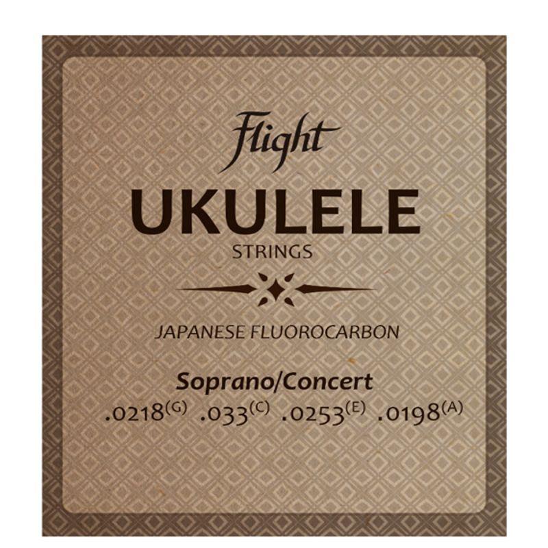Flight FUSSC100 Flourocarbon Ukulele Strings - Soprano/Concert