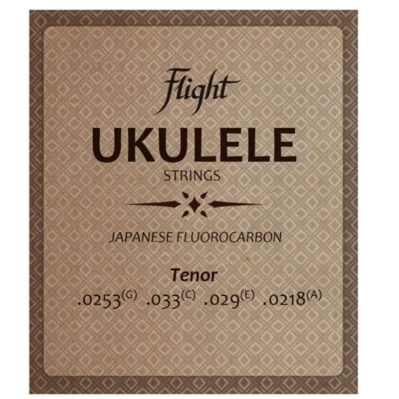 Flight FUST100 Flourocarbon Ukulele Strings - Tenor