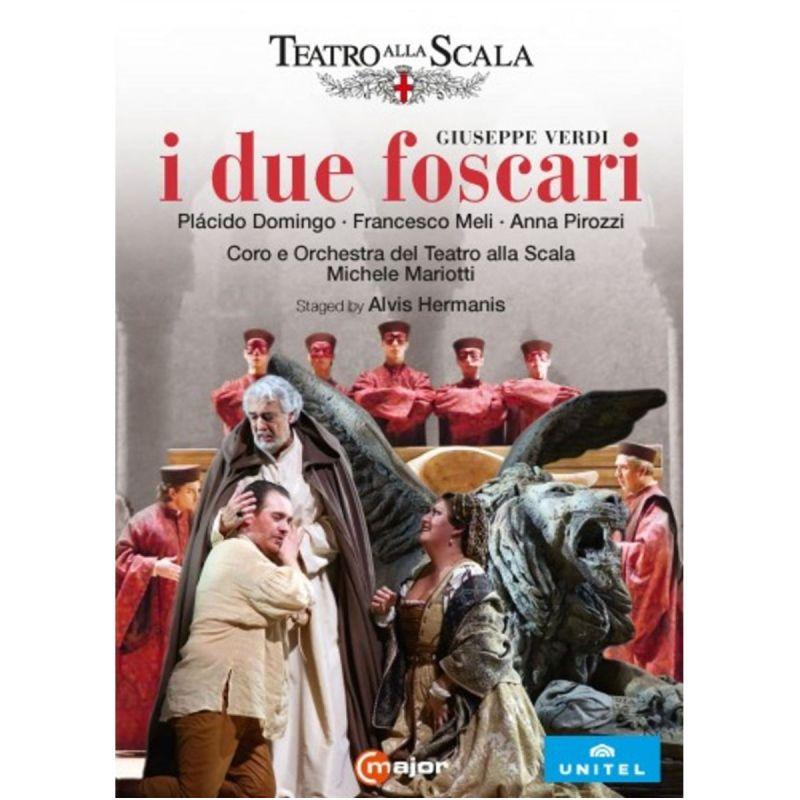 DOMINGO/MELI/PIROZZI/ISOTTON - VERDI/I DUE FOSCARI (DVD)