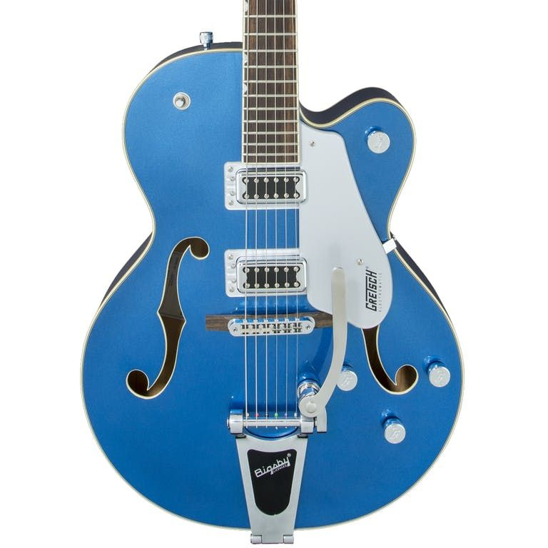 Gretsch G5420T Electromatic Hollow Body Electric Guitar, Fairlane Blue