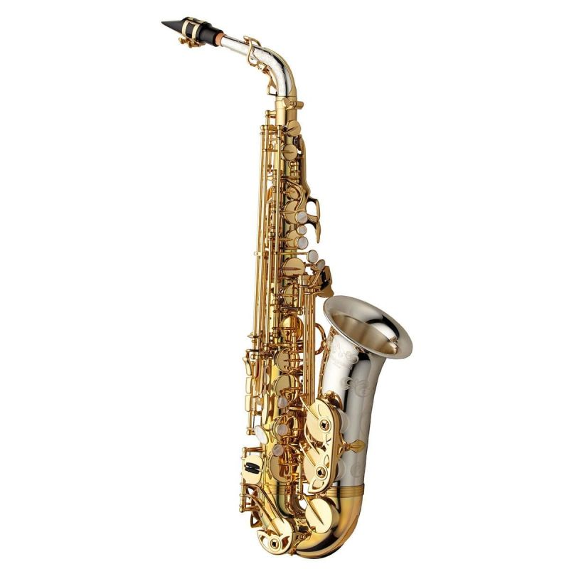Yanagisawa Alto Saxophone, Solid silver neck and bell, brass body (AWO33)
