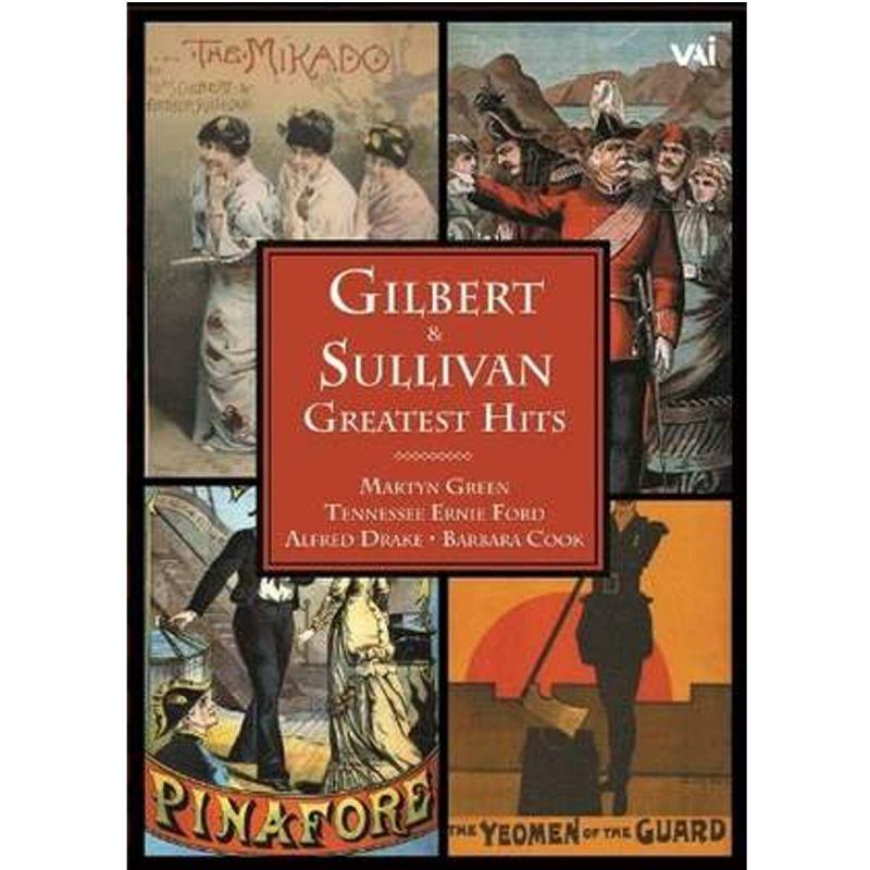 GILBERT AND SULLIVAN - Greatest Hits (DVD)