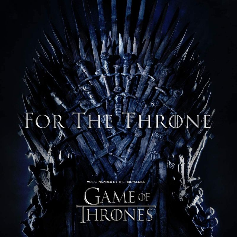 VARIOUS ARTISTS - FOR THE THRONE - MUSIC INSPIRED BY GAME