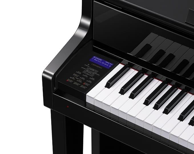 Casio GP510 Grand Hybrid Digital Piano, Polished Ebony