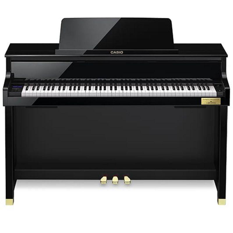 Casio GP510 Grand Hybrid Digital Piano, Polished Ebony inc. FREE Bang and Olufsen Headphones