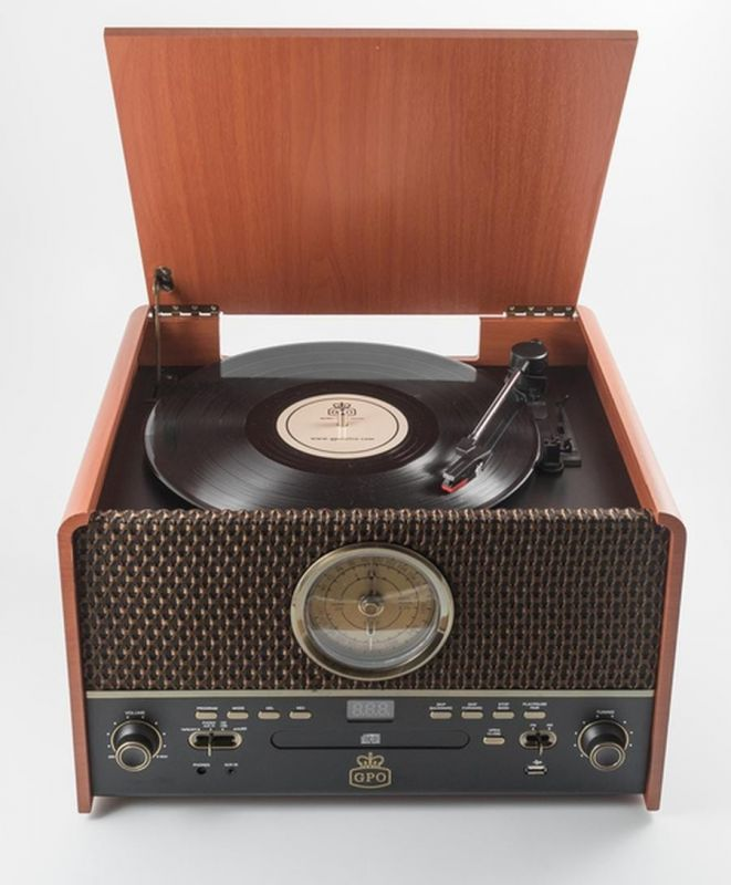 GPO Chesterton Turntable, CD and Cassette Player