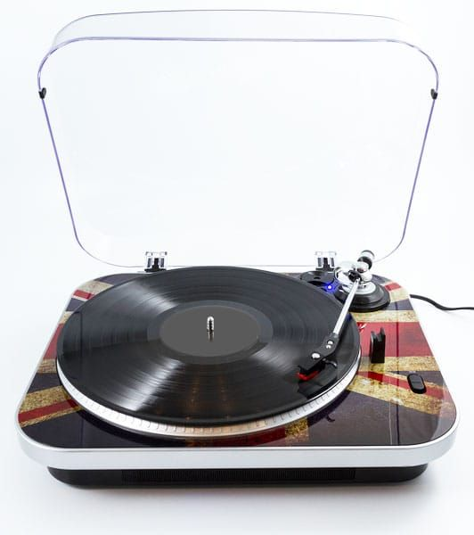 GPO Jam Turntable With Built In Speakers