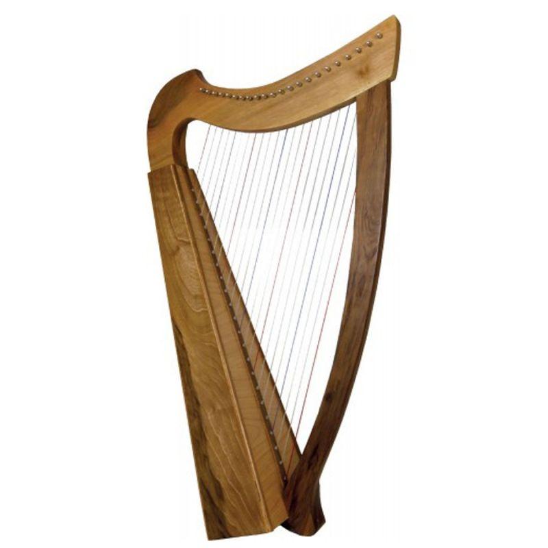 Glenluce GR60032W 29 String Folk Harp