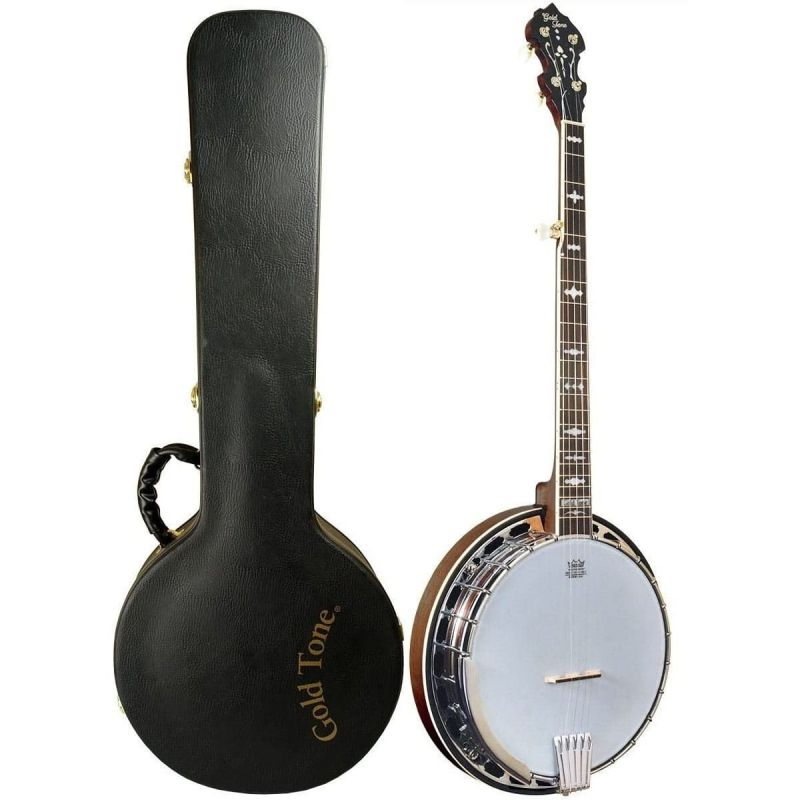 Gold Tone OB-150 5-string Orange Blossom Resonator Banjo, inc. case