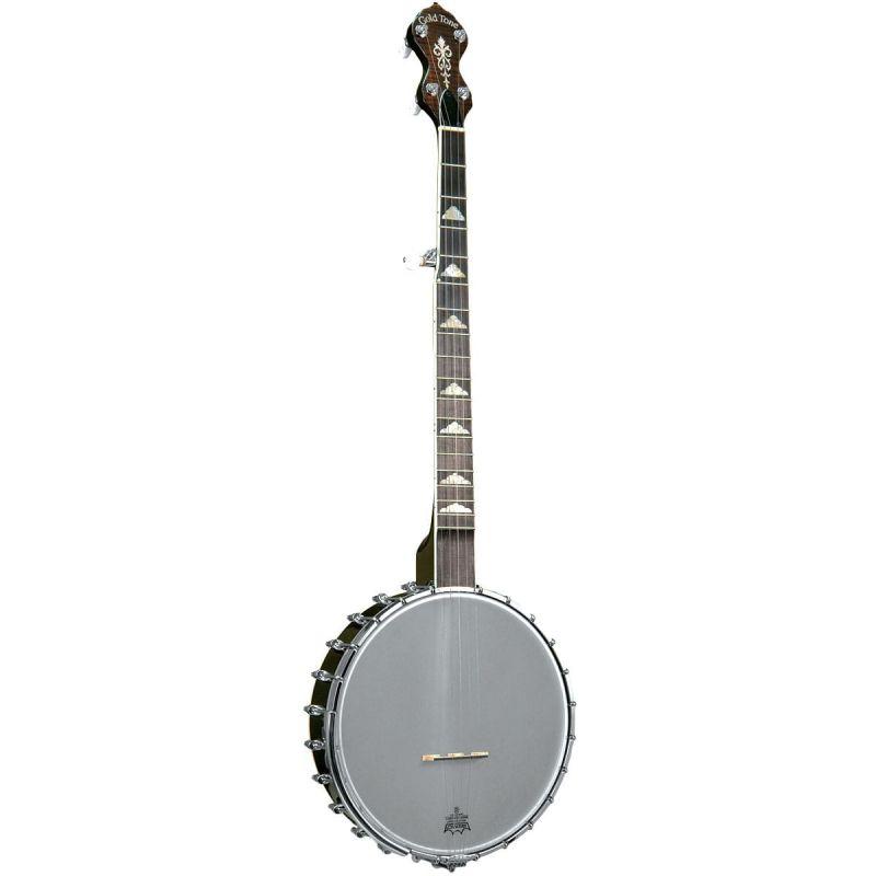Gold Tone WL-250 White Ladye 5-string Open Back Banjo, inc. hard case
