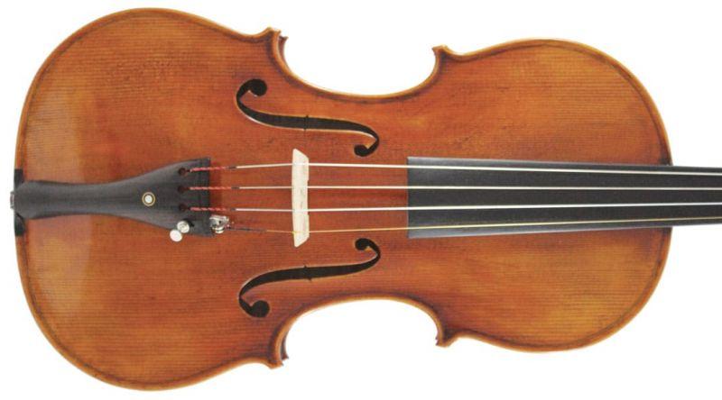 Heritage Series VI011-4/4 Violin Guarneri Model, with Gold Setup