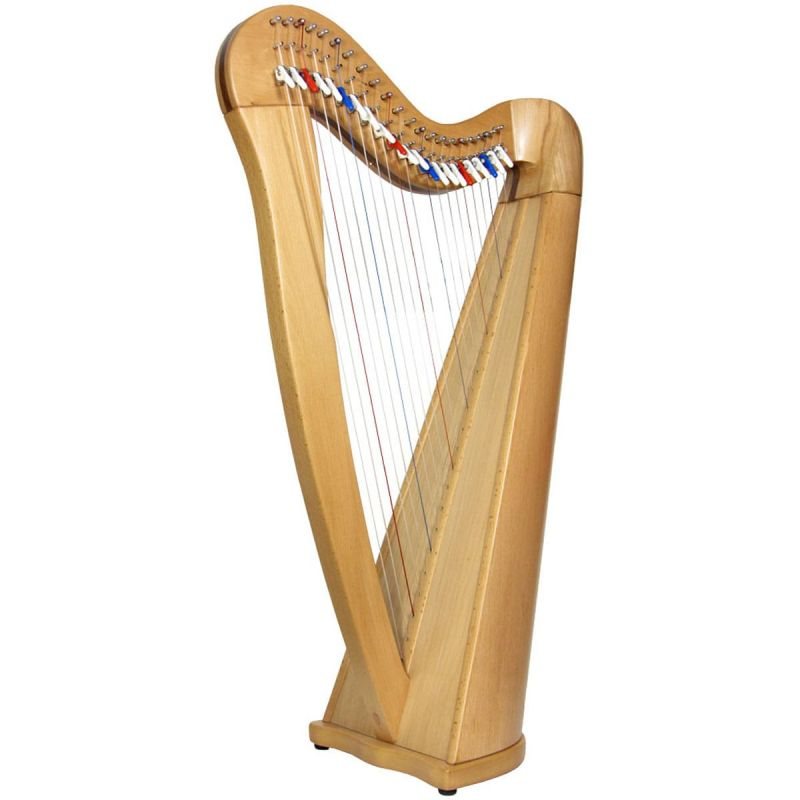 Glenluce Black Loch 22 String Harp EX-DISPLAY