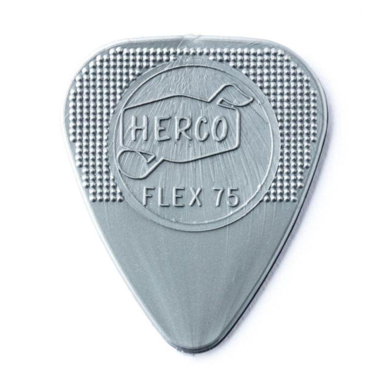 Dunlop Herco Picks Player Pack Flex 75 Heavy Silver 12 Player Pack