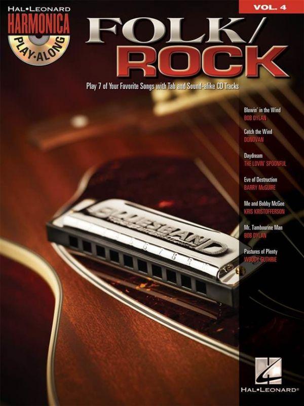 Harmonica Playalong Folk Rock vol 4